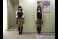 【ぱんちゅ】女子の生パンツをガン見する特集動画☆アソコもお尻のふくらみもパンティ興奮☆素人5人③