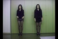【ぱんちゅ】女子の生パンツをガン見する特集動画☆アソコもお尻のふくらみもパンティ興奮☆素人5人②