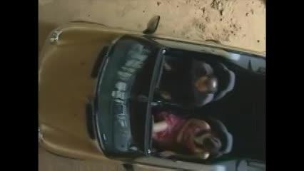ヘンリー塚本 ドライブ中運転しながらおまんこ触って、デカマラ尺八して...